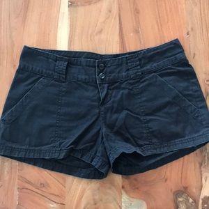 Rubbish black lightweight shorts